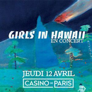 GIRLS IN HAWAII @ Casino de Paris - Paris