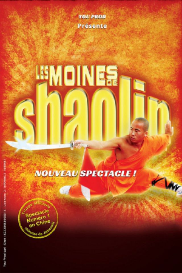Les Moines Shaolin @ Complexe Culturel l'Angelarde - Chatellerault