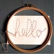 Atelier JEN MORET (à partir de 8 ans) : «Mots brodés» à LA ROCHELLE @ LA SIRENE  - Billets & Places