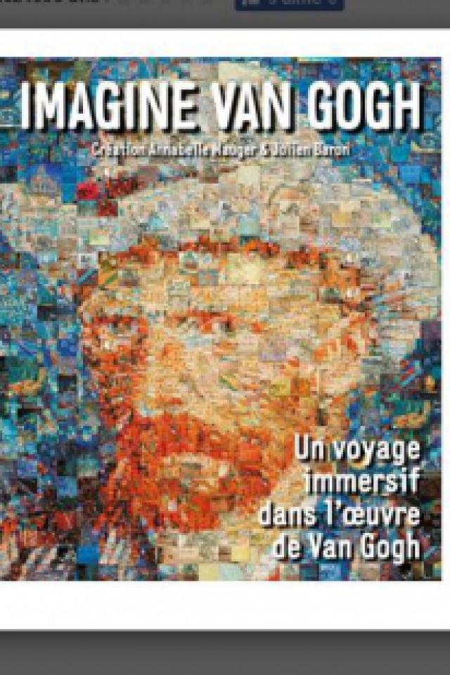 IMAGINE VAN GOGH @ Grande Halle de la Villette - Paris