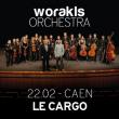 Concert Worakls Orchestra à Caen @ LE CARGO - Billets & Places