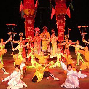 Les Moines Shaolin  Nouveau Spectacle @ Halle aux Vins - Parc Expo - COLMAR