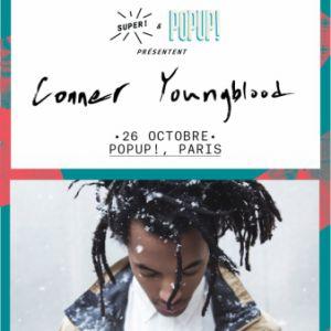 Conner Youngblood @ Pop-Up! - PARIS