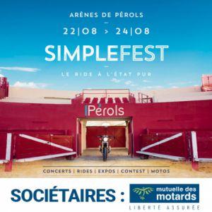 Mutuelle Des Motards - Simple Fest: Pass 3 Jours Societaires Mdm