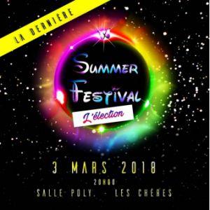 SUMMER FESTIVAL : L'ELECTION 2018 @ SALLE POLYVALENTE - LES CHÈRES