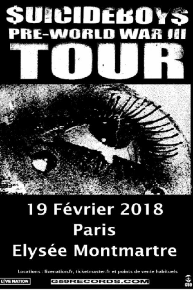 $UICIDEBOY$ @ ELYSEE MONTMARTRE - PARIS