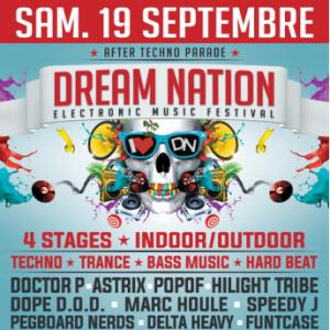 Soirée DREAM NATION FESTIVAL - AFTER TECHNO PARADE à LA PLAINE ST DENIS @ LES DOCKS DE PARIS - Billets & Places
