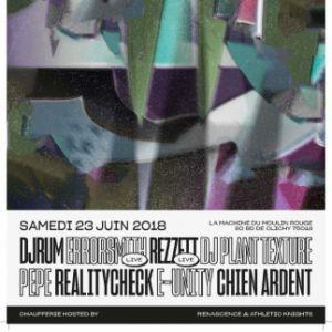 La Machine présente : Djrum, Errorsmith, Rezzett & Guests @ La Machine du Moulin Rouge - Paris