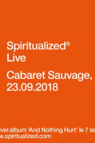 Billets SPIRITUALIZED - Cabaret Sauvage