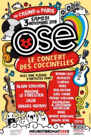 LE CONCERT DES COCCINELLES à Paris @ Casino de Paris - Billets & Places