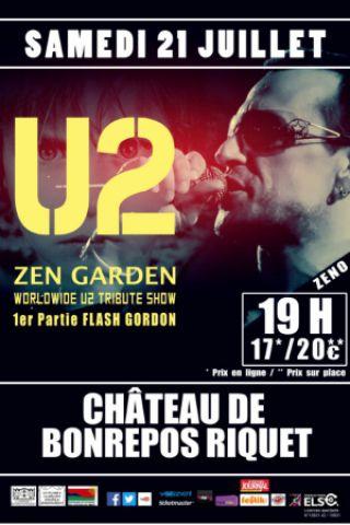 CONCERT TRIBUTE U2 à BONREPOS RIQUET @ Château de bonrepos-Riquet - Billets & Places