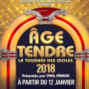 AGE TENDRE  @ ZENITH SUD - Montpellier