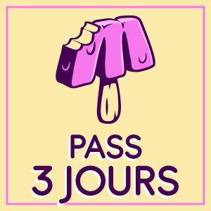 FESTIVAL MARSATAC - 20EME EDITION - PASS 3J @ PARC CHANOT - PLAGE DU PETIT ROUCAS - MARSEILLE