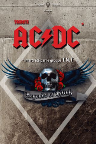 Concert T.N.T TRIBUTE BAND AC/DC (LEGENDS OF ROCK)
