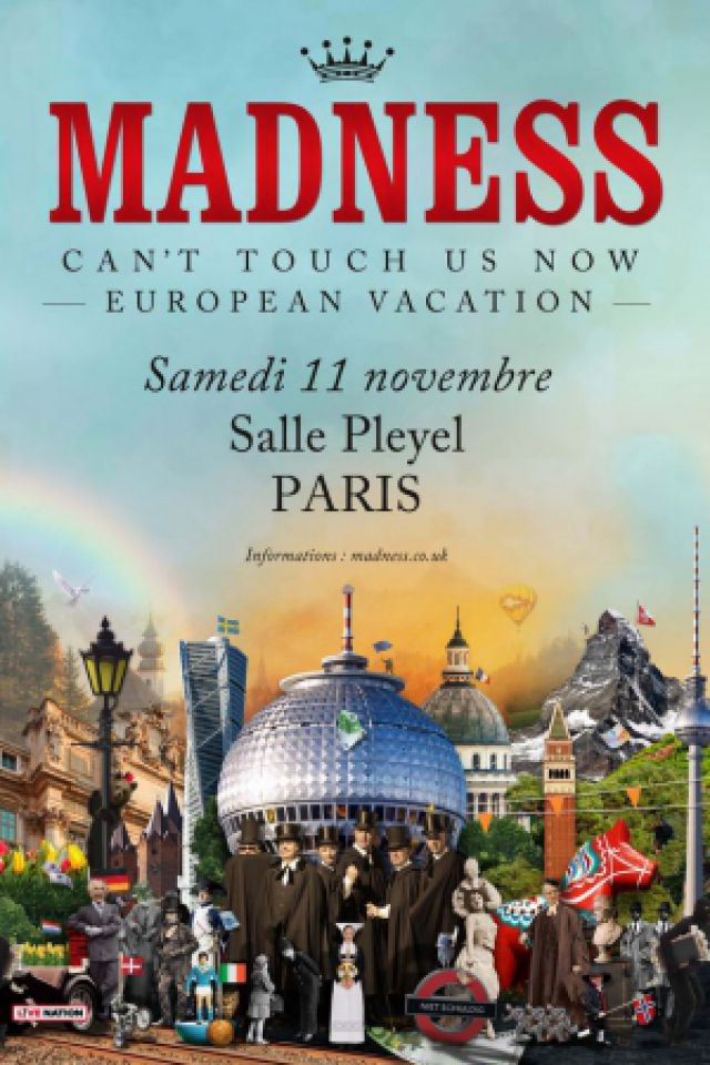 Concert MADNESS à Paris @ Salle Pleyel - Billets & Places