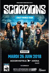 Billets SCORPIONS - ACCORHOTELS ARENA