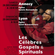 Concert Les célèbres Gospels et Spirituals à Annecy @ Eglise Sainte Bernadette - Billets & Places