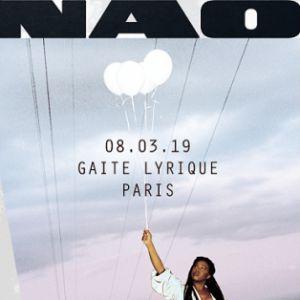 NAO + 1ère partie @ La Gaîté Lyrique - Paris