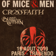 Concert OF MICE & MEN + CROSSFAITH + BLEED FROM WITHIN à Paris @ Le Trabendo - Billets & Places