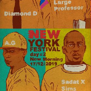 Large Professor - Diamond D - Sadat X - A.G - Sims