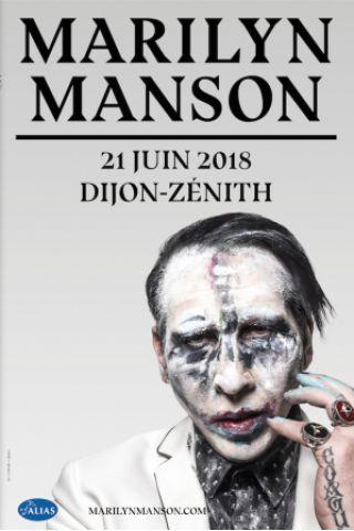 Concert MARILYN MANSON à Dijon @ Zénith de Dijon - Billets & Places