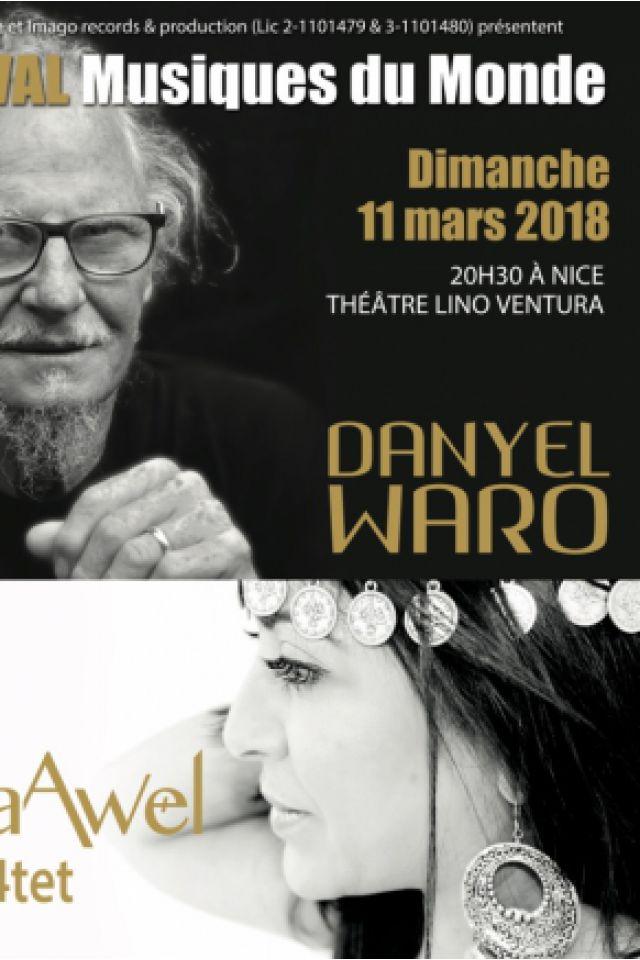 Danyel Waro & Syna Awel 4tet @ Théatre Lino Ventura - Nice