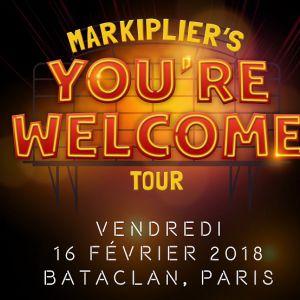 MARKIPLIER @ LE BATACLAN - PARIS