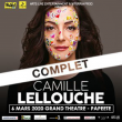 Spectacle CAMILLE LELLOUCHE à PAPEETE @ GRAND THEATRE - Billets & Places
