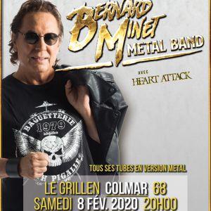 Bernard Minet Metal Band Grillen Colmar