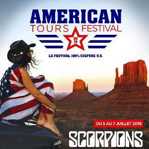 American Tours Festival 2019 - Pass 1 Jour