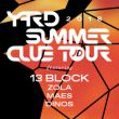 Affiche Yard summer club ft. 13 block, dinos, maes, zola