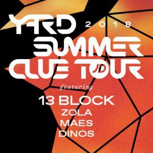 YARD Summer Club ft. 13 Block, Dinos, Maes, Zola @ Wanderlust - PARIS