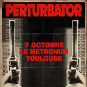 Perturbator + Guests | Le Métronum, Toulouse