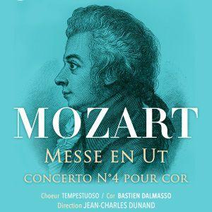 Messe En Ut / Concerto Pour Flute N°4 De Mozart