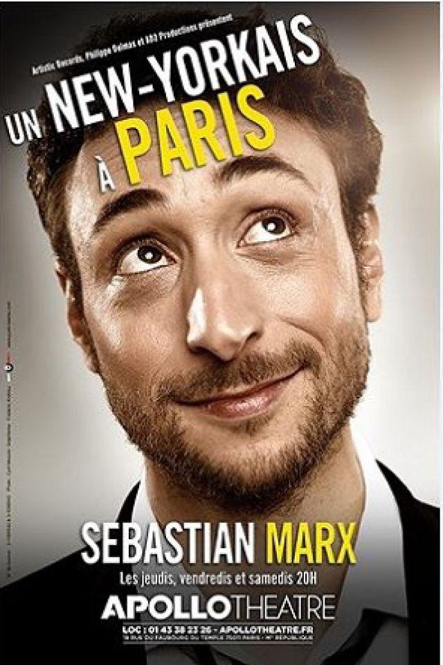 SEBASTIAN MARX - Un New Yorkais à Paris @ APOLLO THEATRE - PARIS