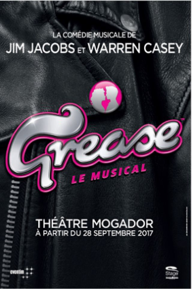 GREASE @ Théâtre Mogador - Paris