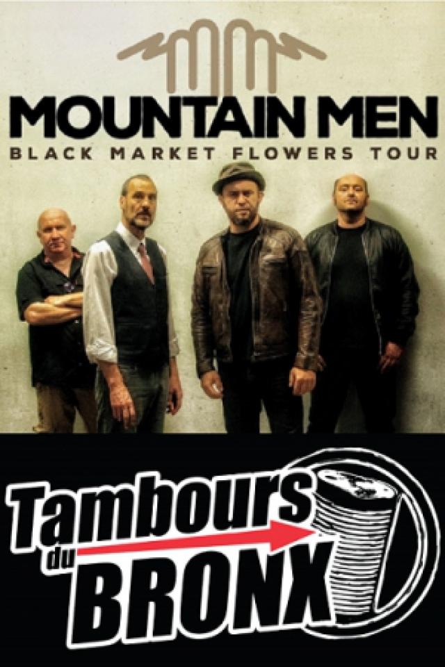 MOUNTAIN MEN & TAMBOURS DU BRONX - Foliescenies @ Complexe sportif - SALIES DU SALAT
