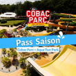 PASS SAISON 2021 Cobac Parc + Aqua'Fun Park à  LANHELIN - Billets & Places
