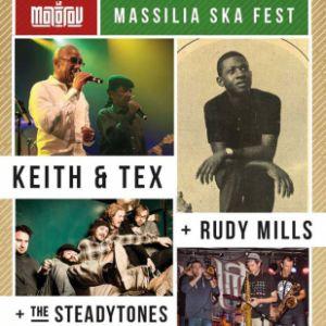Massilia Ska Fest : Keith & Tex , Rudy Mills , The Steadytones