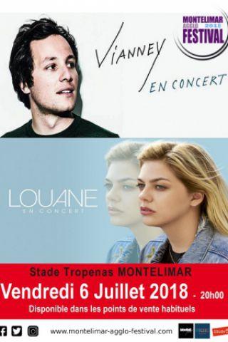 Concert VIANNEY et LOUANE à MONTÉLIMAR @ Stade Tropenas - Billets & Places