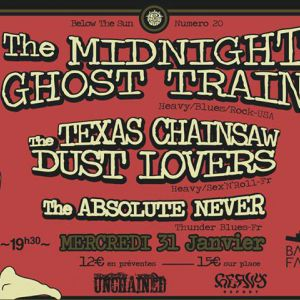 THE MIDNIGHT GHOST TRAIN @ Le Batofar - Paris