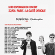 Concert LORD ESPERANZA (avec NELICK & MAJEUR MINEUR)