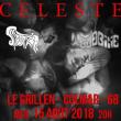 Concert CELESTE + SUPERTZAR + WOODBINE  à COLMAR @ Le GRILLEN - Billets & Places