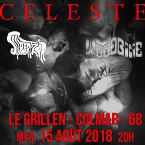 CELESTE + SUPERTZAR + WOODBINE  @ Le GRILLEN - COLMAR