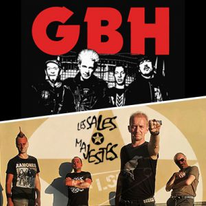 Gbh + Les Sales Majestes + Charge 69