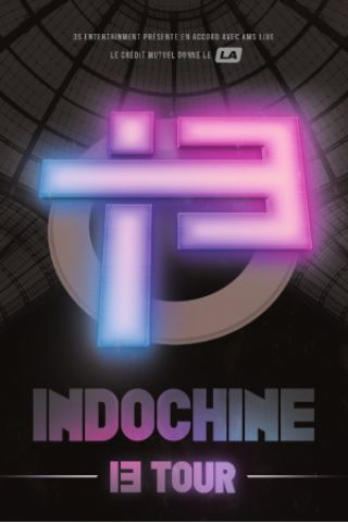 Concert INDOCHINE à Toulouse @ ZENITH TOULOUSE METROPOLE - Billets & Places