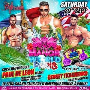 The MANOR WORLD PARIS @ Gibus Club - PARIS