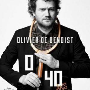 "OLIVIER DE BENOIST ""0 / 40 ans"" @ LE K - KABARET CHAMPAGNE MUSIC HALL - TINQUEUX"