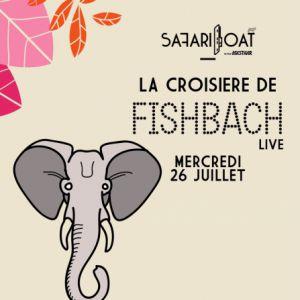 Concert La Croisière Safari de Fishbach (Live) à PARIS @ Safari Boat with Asics Tiger - Billets & Places