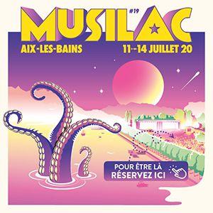 Musilac 2020 - Pass 3 Jours Dimanche+Lundi+Mardi